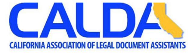 CALDA logo